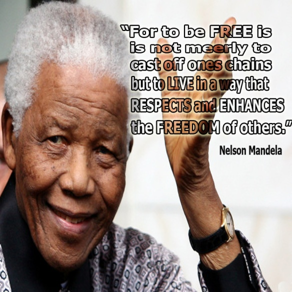 Nelson Mandela - Freedom - God Bless