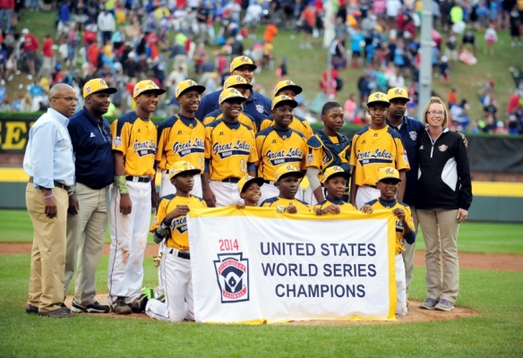 Baseball: Little League World Series-West Region vs Great Lakes Region